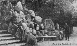 5 Stensætningen ved sydindgangen