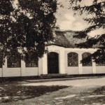 Pavillonen 1. Postkortet tilhører Hans Christian Bruun, der har erhvervet det på Brørup marked..
