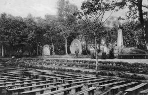 3 Vestsiden af festpladsen 1910