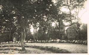 Festpladsen og nogle af stenene